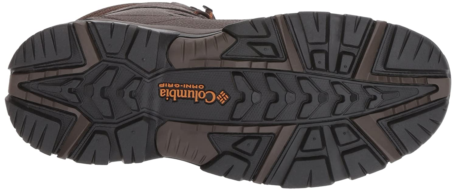 Columbia Men's Gunnison Plus Plus Plus Omni-Heat Hiking schuhe, Cordovan, Canyon Gold, 10 D US 3b2b6d