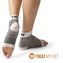 Plantar Fasciitis Socks by Treat My Feet – Ankle Compression Sock Improves Blood Circulation