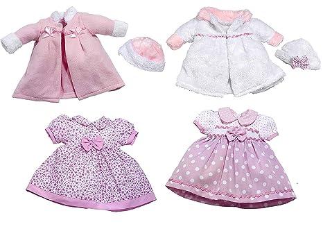 save off edead 91483 Rosa Toys 0104 Vestiti per bambole da 38 - 42 cm, modelli ...