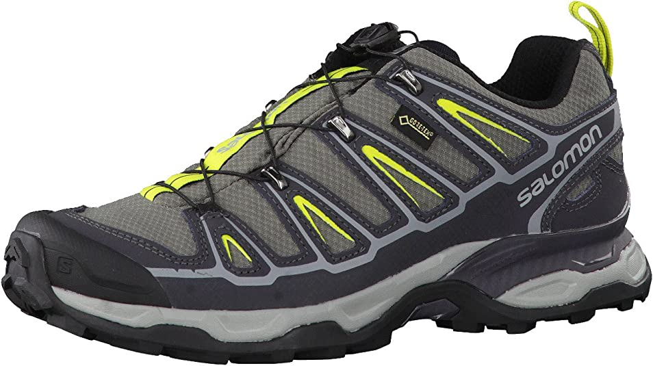 Salomon X Ultra 2 GTX, Zapatillas de Trail Running para Hombre, Gris (Grey), 45 1/3 EU: Amazon.es: Zapatos y complementos