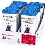 Chocolate Bars - Chuao Chocolatier Firecracker Mini Chocolate Bars 24pk (.39 oz mini bars) - Best-Selling Chocolate Pack - Gourmet Artisan Dark Chocolate - Free of Artificial Flavors