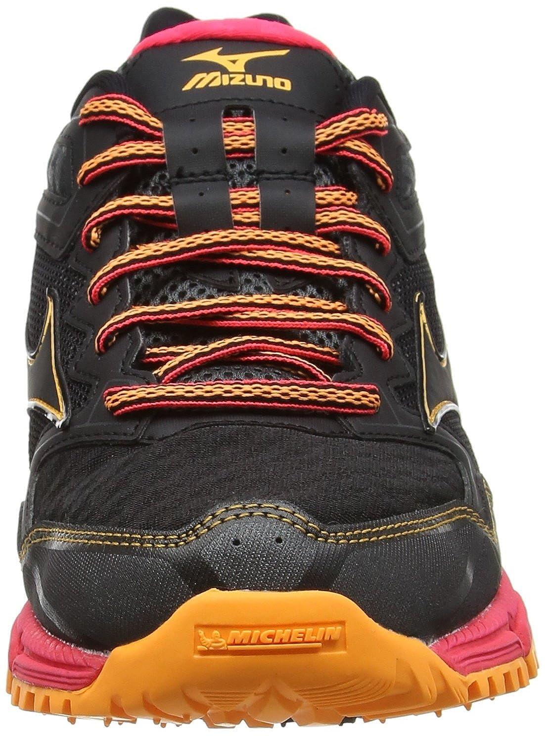 Mizuno Wave Daichi 2 Negro J1GD1771 Zapatillas de Running