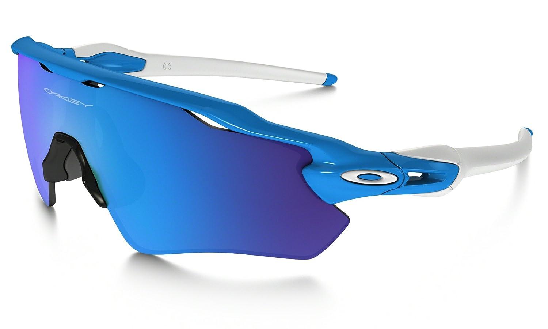 20c7eace81 Oakley Sport Radar EV Path Cycling Running Jogging Sunglasses in Sky Blue  with Sapphire Iridium Lens  Amazon.co.uk  Sports   Outdoors