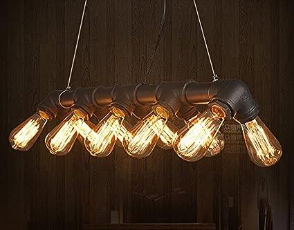 Kronleuchter Hängelampe ~ Lightess industrie retro hängelampe wasserrohre hängeleuchte