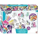 My Little Pony Craft Set Colour Your Own Glitter Gel Stickers Children's Art Kit