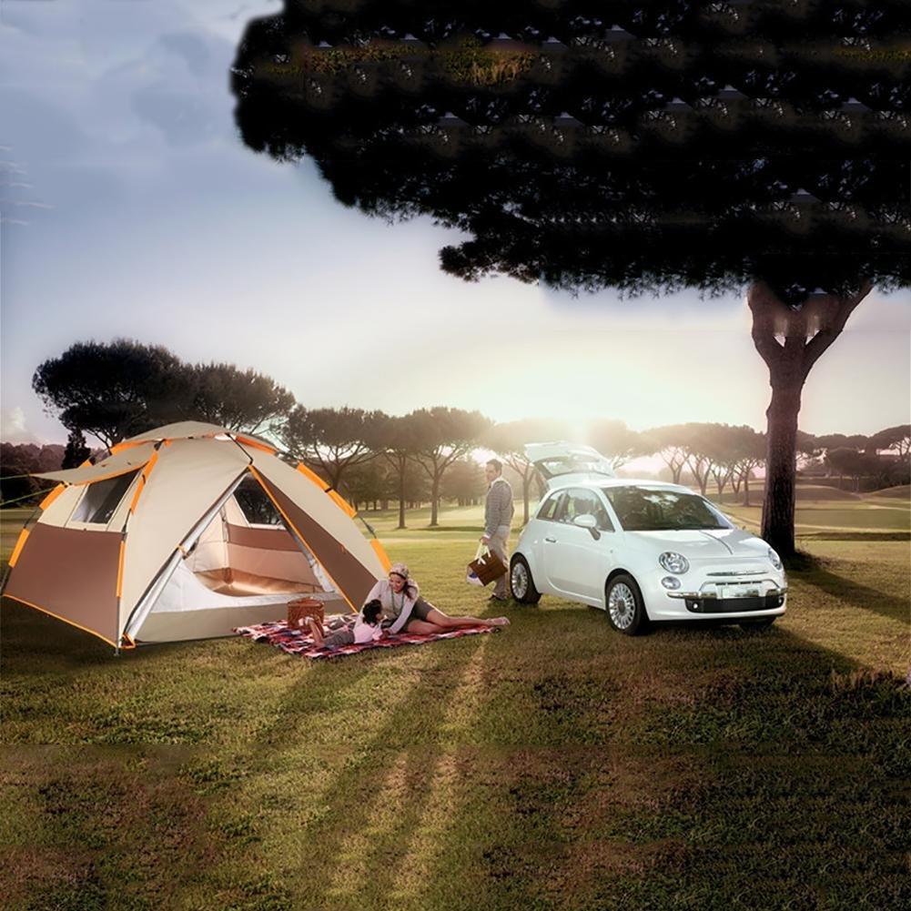 Miao Outdoor Camping Strand Bergsteigen Wasserdicht Wasserdicht Bergsteigen 3–4 Personen Automatische Zelte cf041b