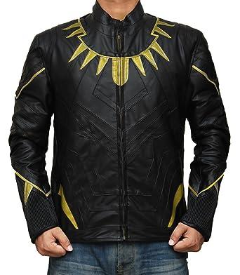 Amazon Com Blingsoul Chadwick Boseman Black Panther Costume Suit