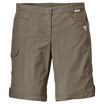 jack wolfskin damen shorts khaki
