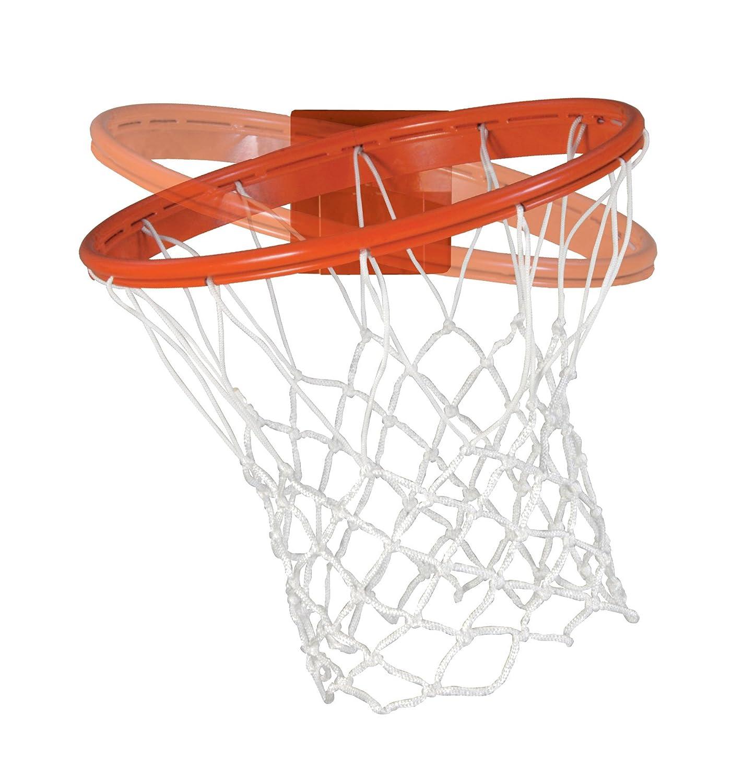 Bison, IncベースラインCollegiate 180度Competition Breakawayバスケットボールゴールforボード、オレンジ、42