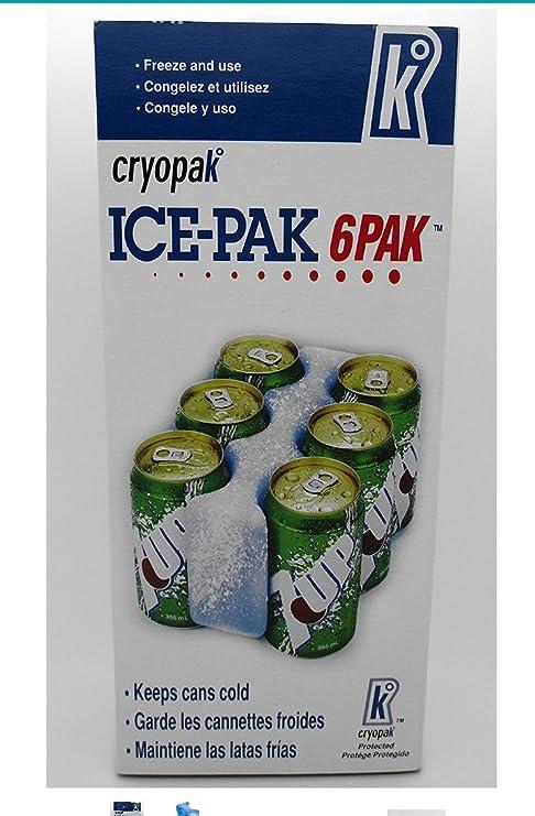 Cryopak Can Cooler Pan de Hielo para Adulto, Transparente: Amazon ...
