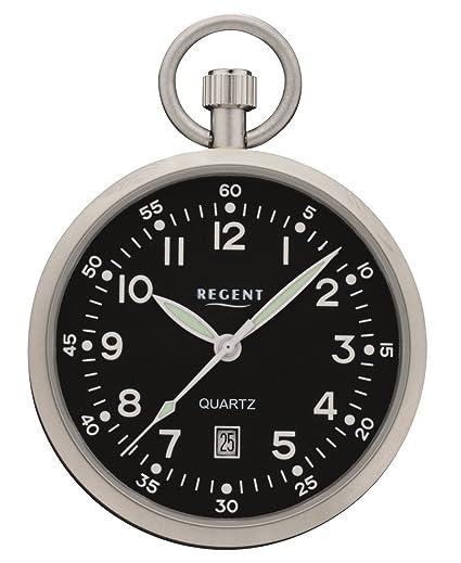 Regent 32P324 - Reloj de bolsillo, con indicador de fecha: Amazon.es: Relojes