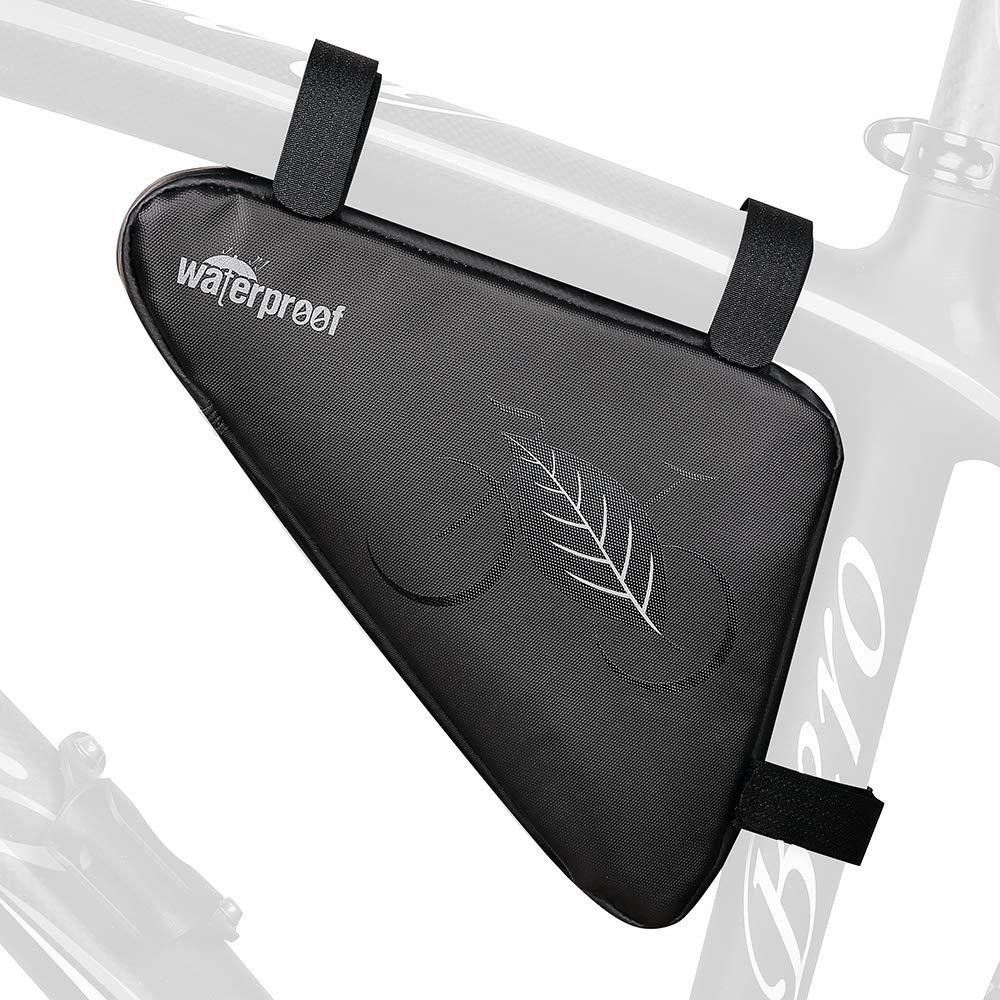Achort Bolsa de Triángulo para Bicicleta, Bolsa de Almacenamiento ...
