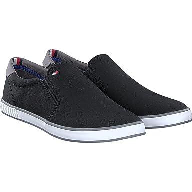 Mens Iconic Slip On Sneaker Trainers Tommy Hilfiger Jj4FupAojv