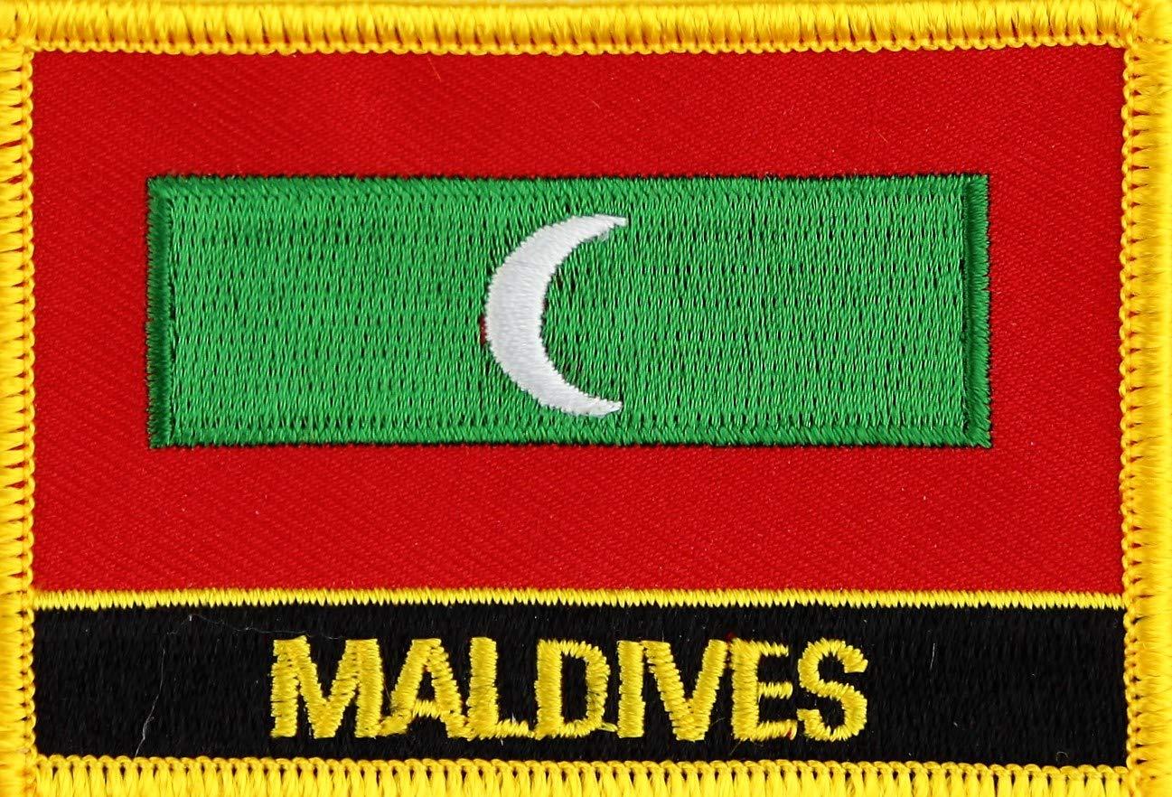 Malediven Yantec Flaggenpatch mit L/ändername