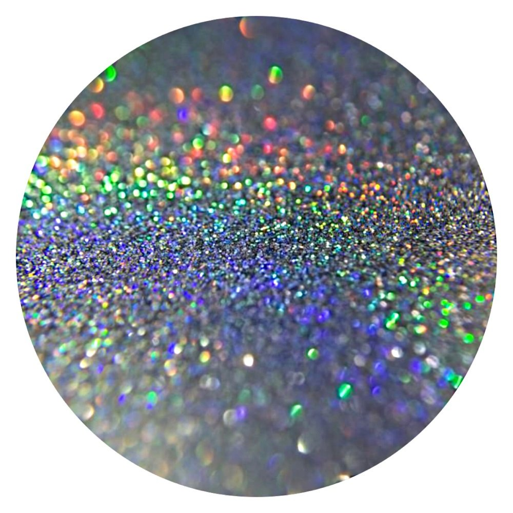 (GH1 - HOLOGRAPHIC SILVER 20g) GLITTER NAIL ART COSMETIC CRAFT FLORIST WINE GLASS GLITTER TATTOO Just Crystals Boutique jlojf98