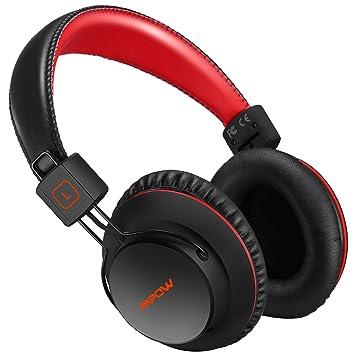 Mpow H1 Cascos Bluetooth,15-20hrs, HD Sonido, Controlador Estéreo de Neodimio de 40 mm, Auriculares Inalámbricos con Micrófono y Cable 3,5mm: Amazon.es: ...