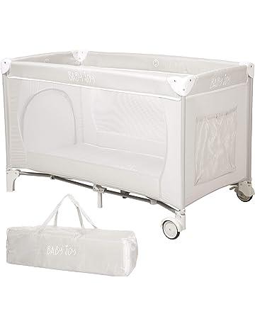 bb05cf461ff Baby Joy Portable Folding Child Baby Large Travel Cot Crib Bed Playpen