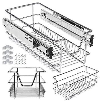Kesser Teleskopschublade 30 cm ✓ Küchenschublade ✓ Küchenschrank ...