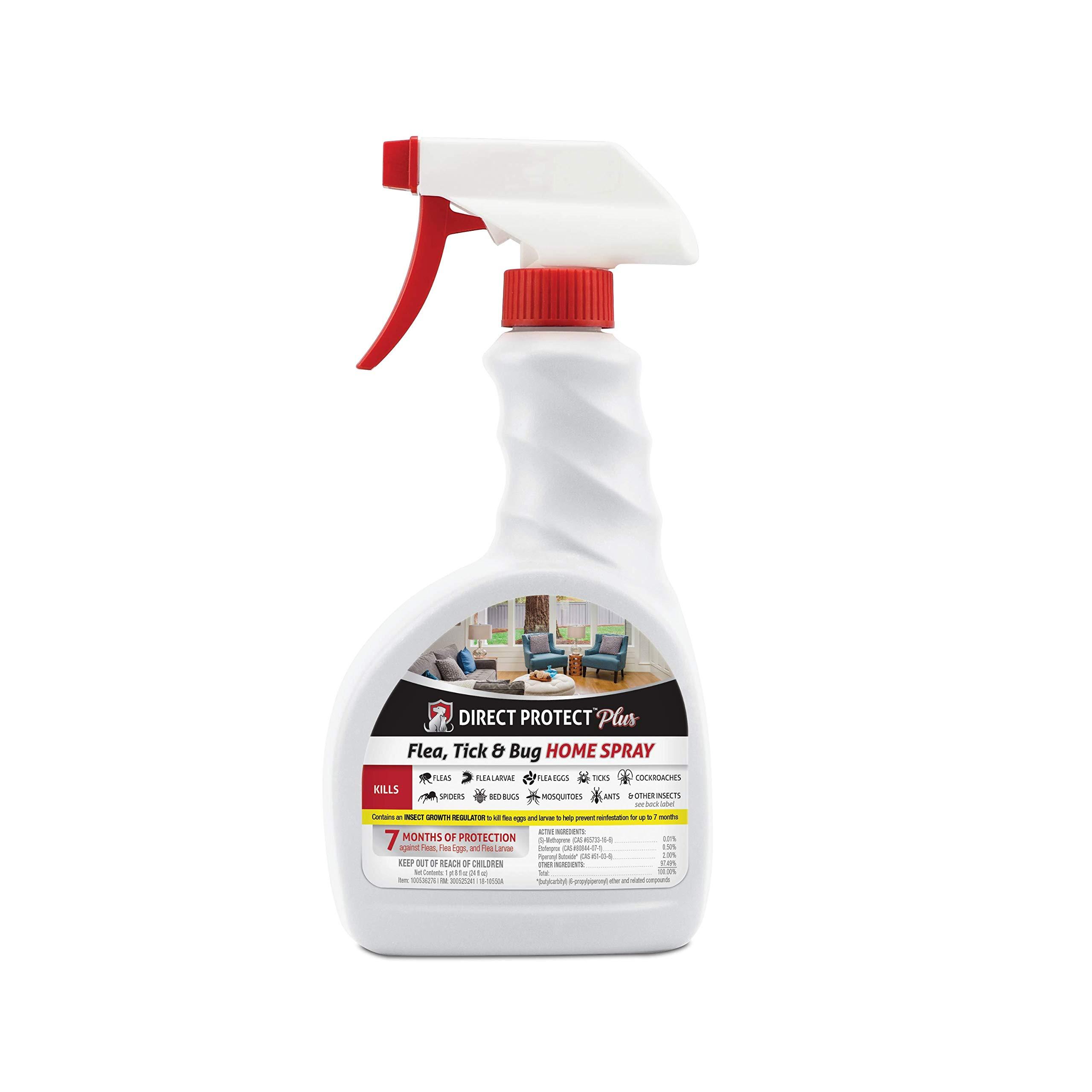 Direct Protect Plus Flea & Tick Home Spray - 24 oz