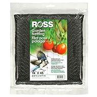Ross 15720 039044157203 (Multi Netting for Use Around Yard and Garden), 14 feet x 45 feet Black