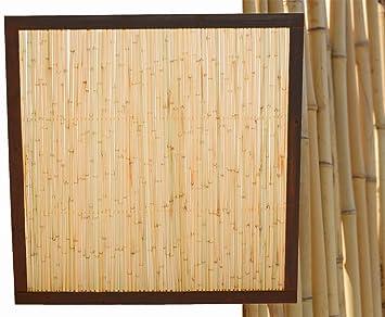 Amazon De Bambuszaun Koh Samui Mit 140 X 120cm Bambuswand