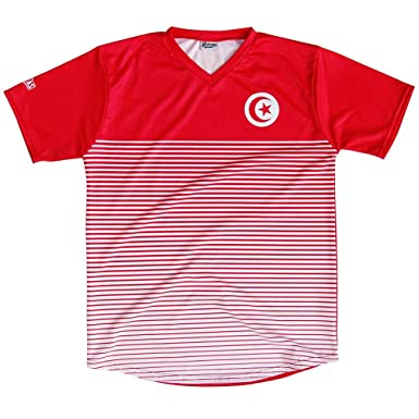 newest 05bf8 32bff Tunisia Rise Soccer Jersey | Amazon.com