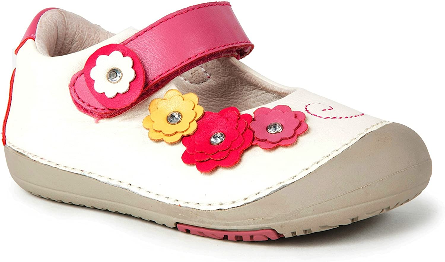 Toddler Baby Girl Children Flower Leather Single Soft Sole Princess Shoes S2 Lot