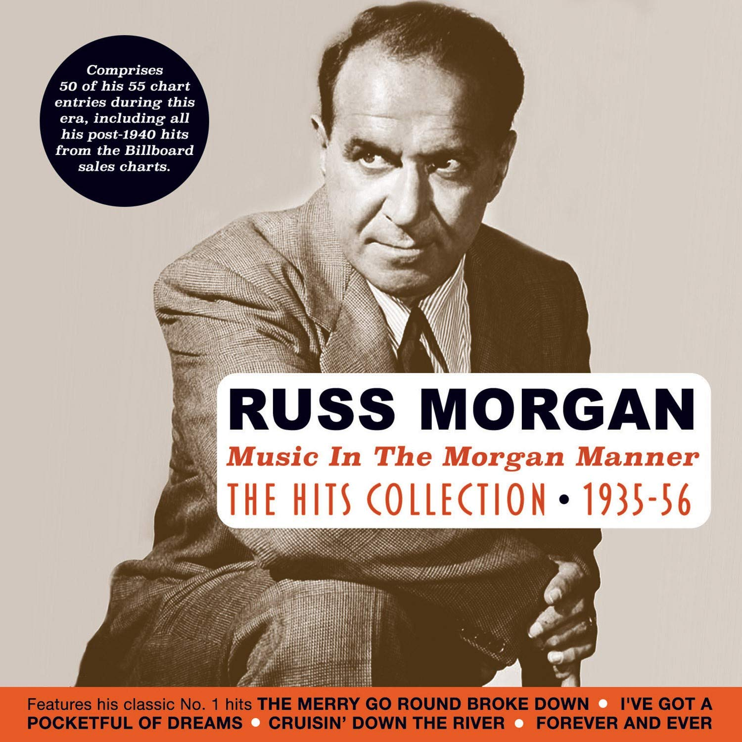 CD : Russ Morgan - Music In The Morgan Manner: Hits Collection 1935-56 (CD)