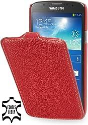 StilGut Étui UltraSlim en cuir pour Samsung Galaxy S4Active i9295en rouge