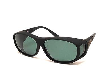 10efc87c8cc9 Amazon.com: Cocoons Live Eyewear Sunglasses Slim Line (Medium) Black Frame  Polarized Gray C402G: Shoes