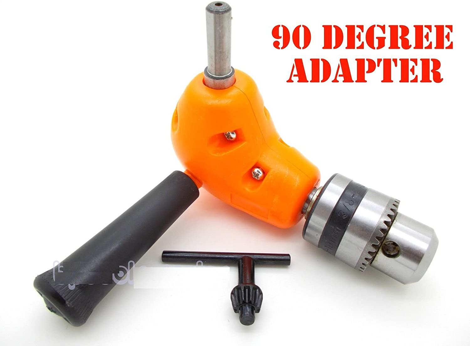 "Angle Adaptor Metal Gear 3//8/"" 90 DEGREE Right Angle Drill"