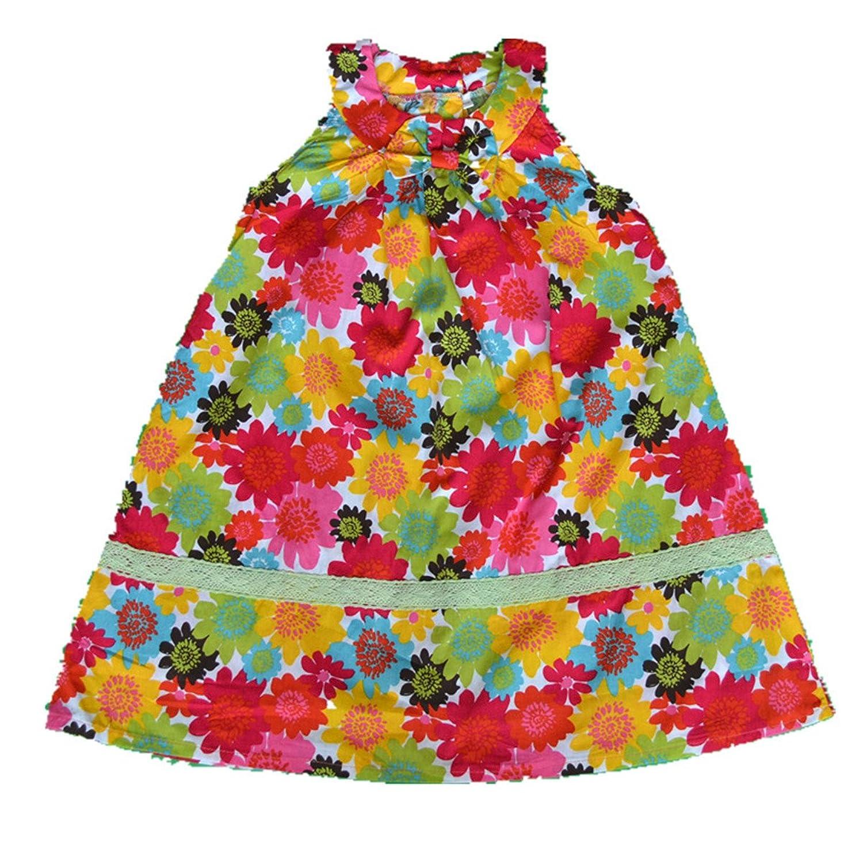 Fanessy Mädchen Strandkleid Blumenmädchen Hochzeit Partei kleid kostüm kinder Prinzessin-Hochzeit Kleid kostüm mädchen