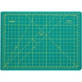Rotary Cutting Mat Self-Healing Double-Sided Ruler Mat 12 x 9 INCHES for Crafts Sewing Hobbies by ZERRO(A4)