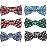 Baby Boys Toddler Bow Tie With Adjustable Neck Strap Kids Bowtie With Gift Box