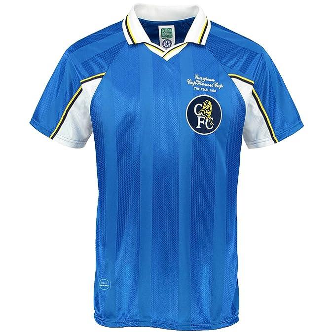 Chelsea FC - Camiseta primera equipación final Recopa Europa 1998 - Para hombre - Producto oficial