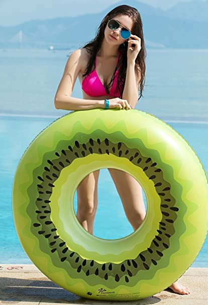 Jasonwell Kiwi Hinchable colchonetas Piscina Flotador Gigante para ...