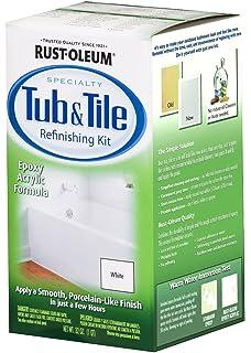 ReNew Tub and Tile Refinishing Kit - Bathroom Cleaners - Amazon.com