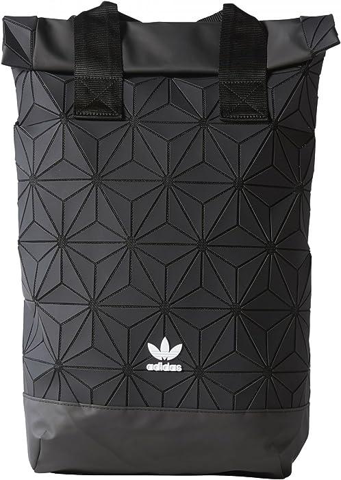 7aa5b49375cb adidas Originals BP Roll Top 3D Mesh 2017 Black Backpack Bag DH0100 ...