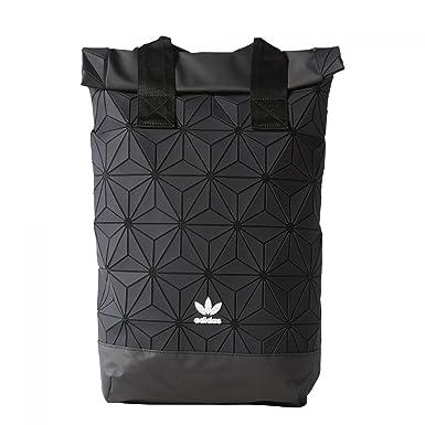ca80f1cfd7c5 adidas Originals BP Roll Top 3D Mesh 2017 Black Backpack Bag DH0100