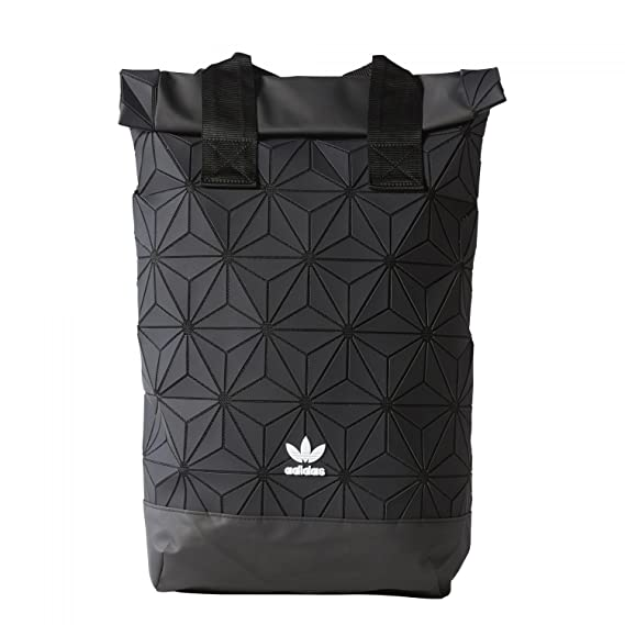 adidas Originals BP Roll Top 3D Mesh 2017 Black Backpack Bag DH0100   Amazon.co.uk  Clothing f7776730a4830