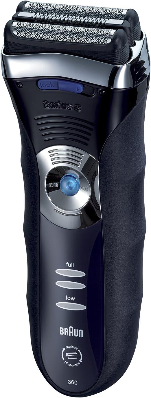 Braun 360 - Afeitadora (Máquina de afeitar de láminas, Azul ...