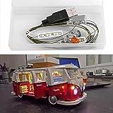 JULITE Led Light Kit for LEGO 10220 Creator Volkswagen T1 Camper Van (Lego set not included)