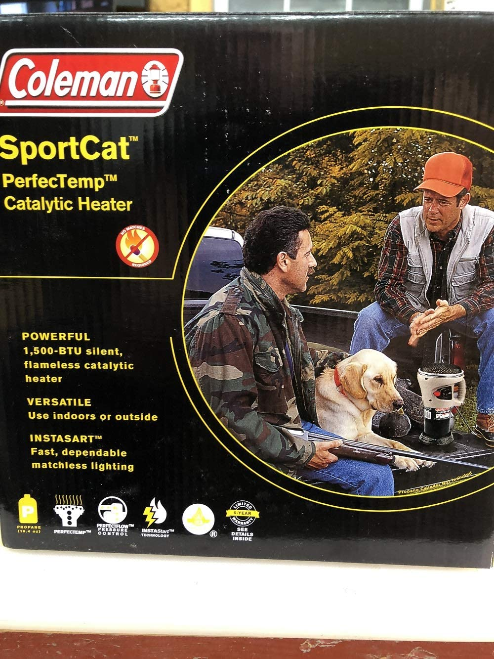 Coleman SportCat PerfecTemp Catalytic Heater
