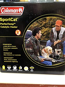 Coleman Sportcat Tent Heater