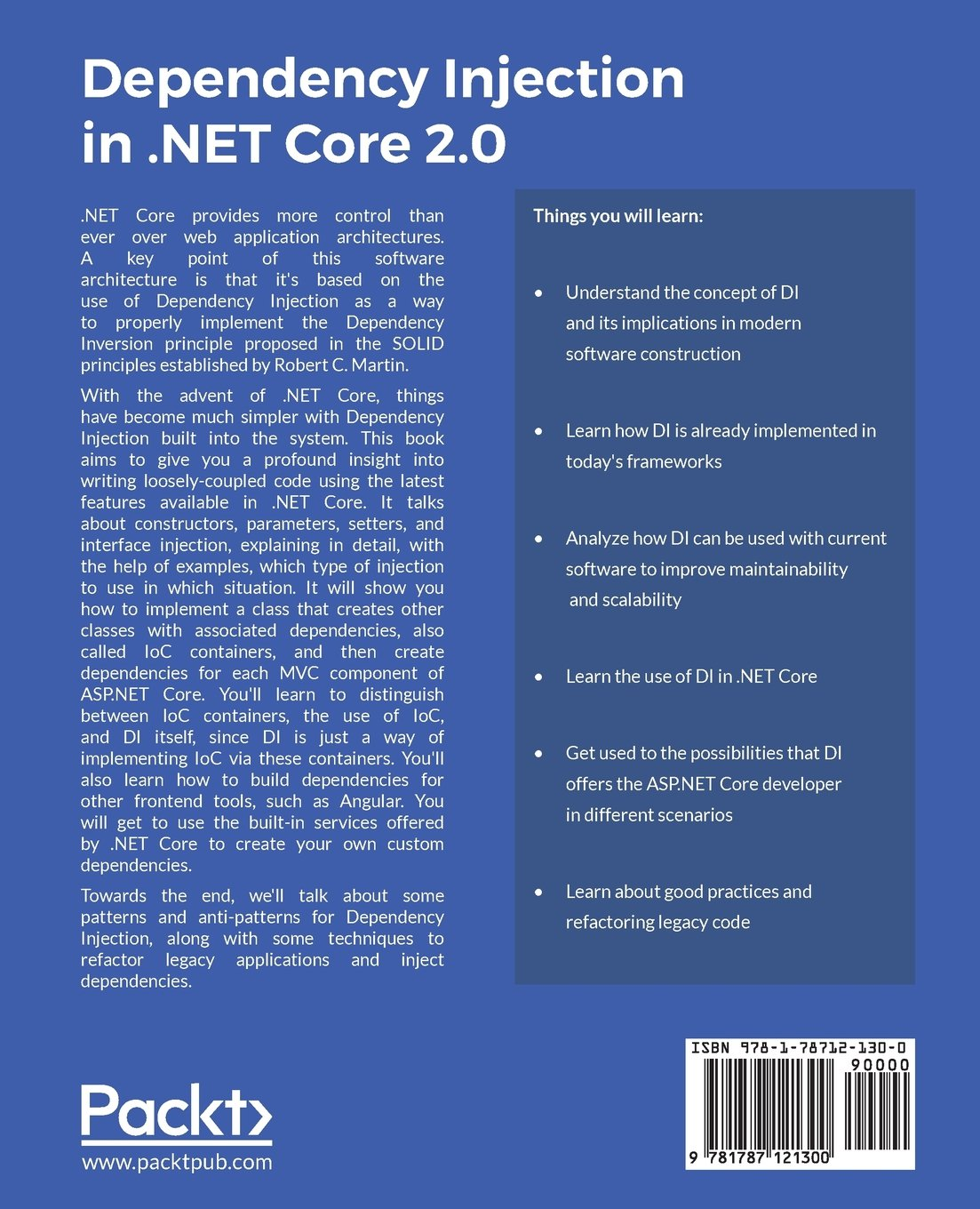 For dependency download ebook ninject mastering injection