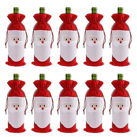 Amazon.com: Gizhome 10 piezas Papá Noel Claus Navidad cordón ...