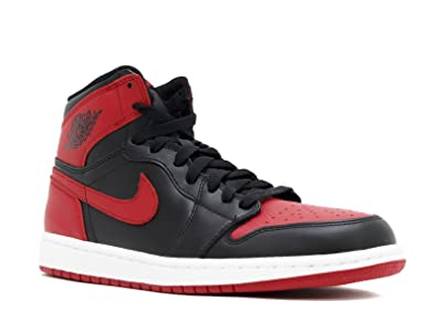 e9df713c6e9a Image Unavailable. Image not available for. Color  AIR JORDAN 1 RETRO HIGH  OG  BRED  ...