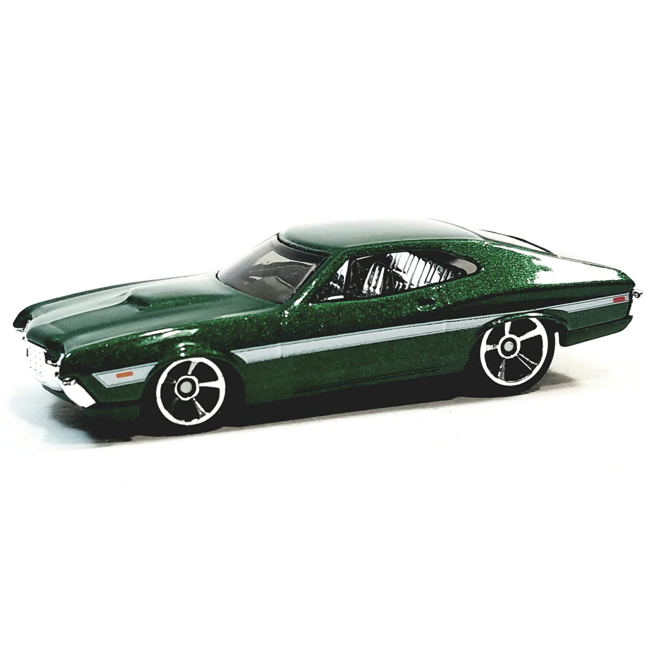Hot Wheels Fast /& The Furious Fenixs Green 1972 Ford Gran Torino Sport 1//64 Scale Diecast Car