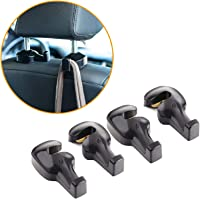 Toplus 4 PACK Car Headrest Hooks - Vehicle Universal Car Organizer Car Back Seat Headrest Hanger Holder Hook for Bag…