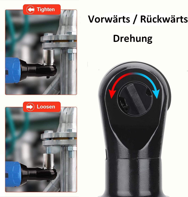 3//8Schnurloser elektrischer Ratschenschl/üssel Ausl/öser mit variabler Geschwindigkeit 2Pcs 1500 mAh Akkus Ratsche Autofather 40 Nm 230 U//min 12V Power Ratschenschl/üsselset mit Schnellladeger/ät